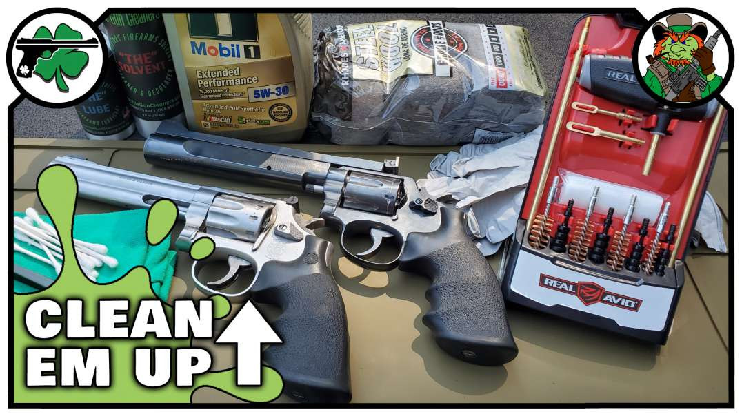 How To Clean A Revolver With The Real Avid Handgun Cleaning Kit