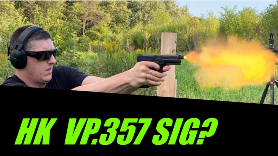 HK VP 40 / 357 SIG review and range time