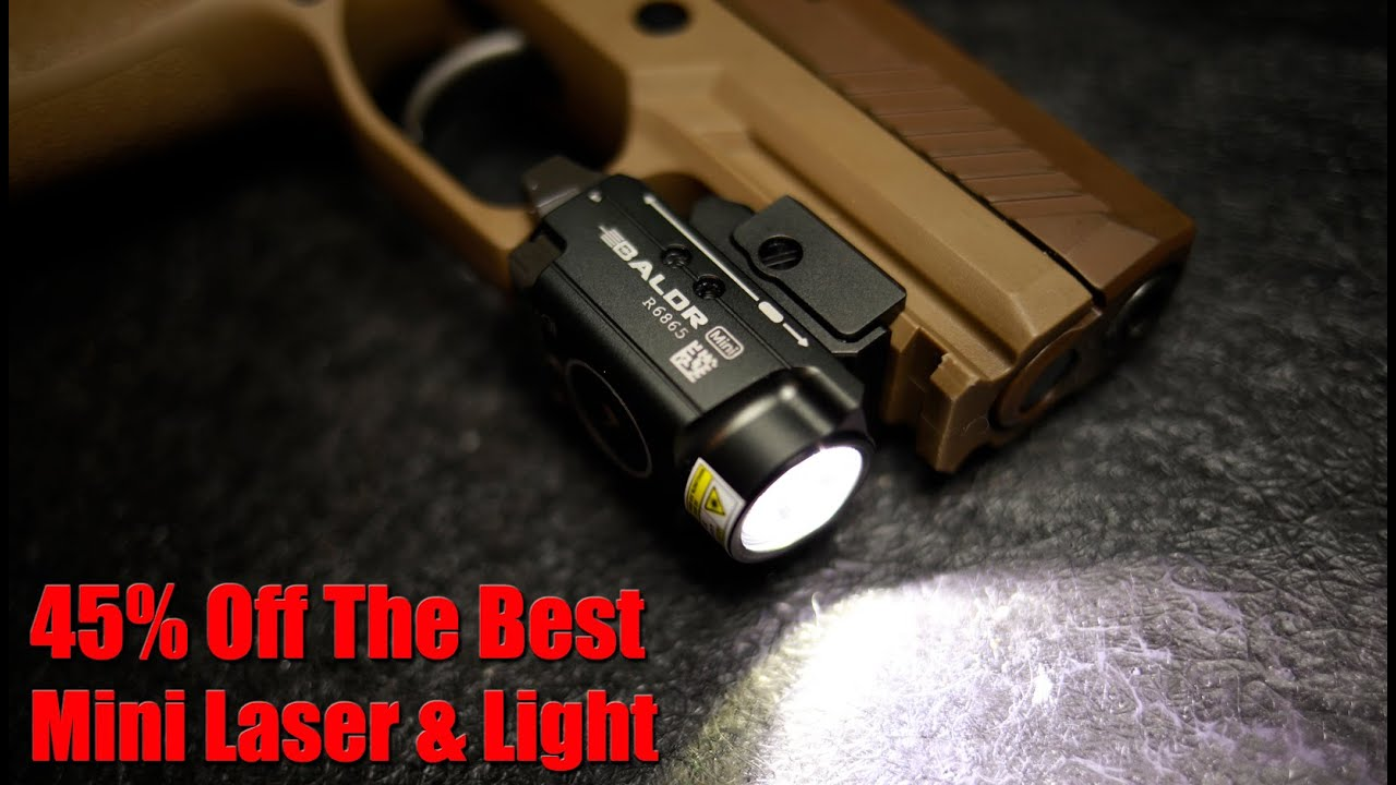 Olight Baldr Mini Weapon Light Laser Combo: Review & 45% Off Sale