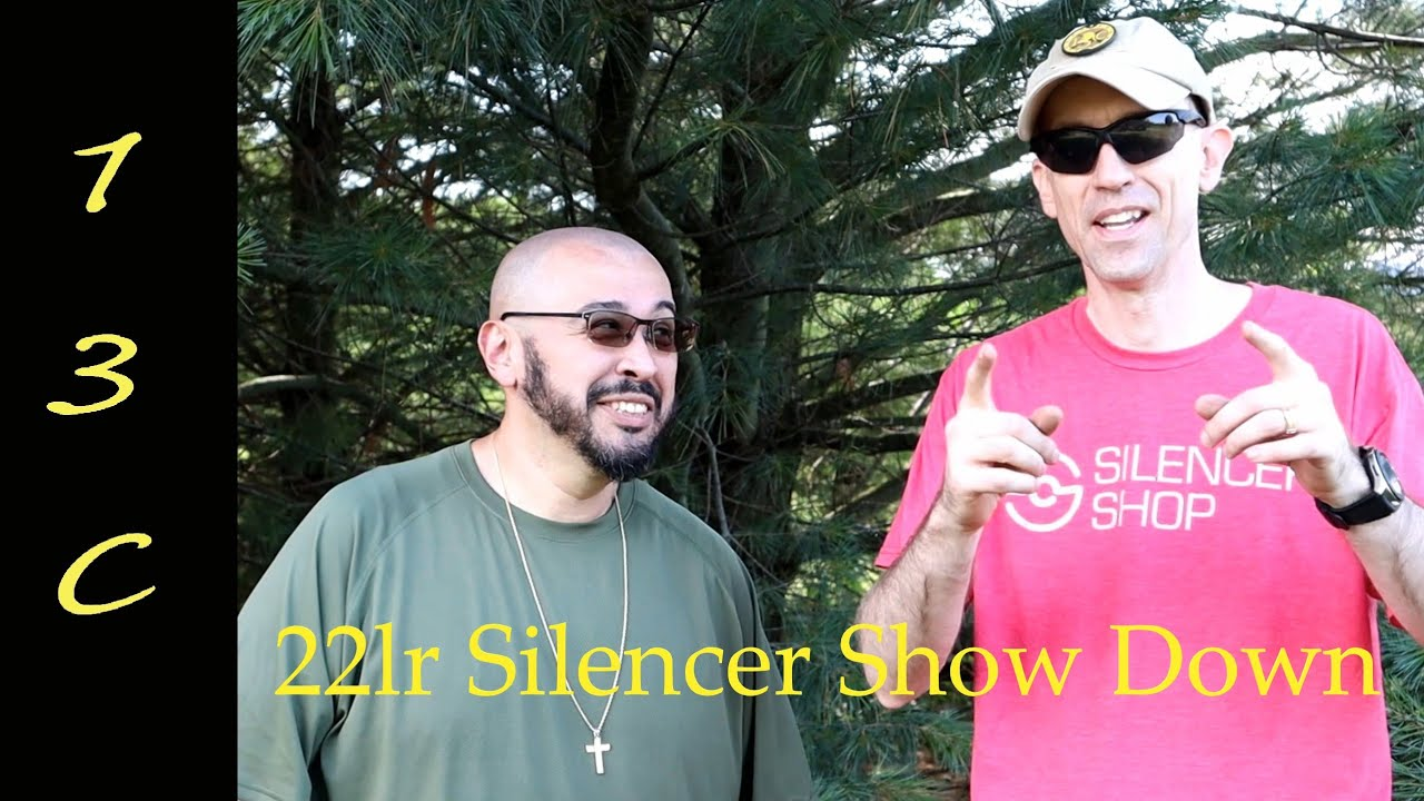 .22lr Silencer Show Down-  7 Silencers, July 2020