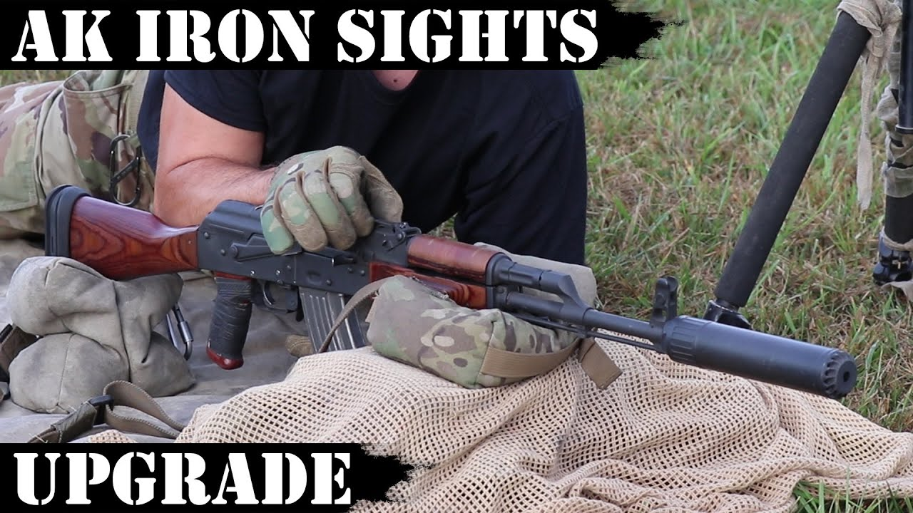 AK Iron Sight Upgrade - but does it HOLD ZERO?