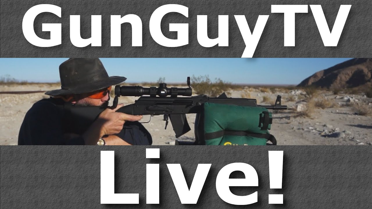 GunGuyTV Monthly Live Stream - August 2020