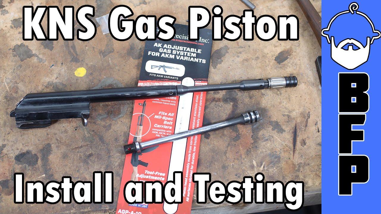 KNS Adjustable Gas Piston Install