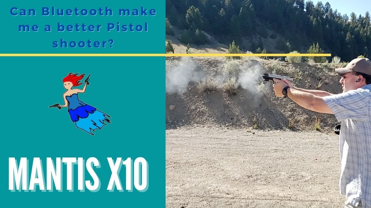 Using a Mantis X10 on a pistol - Become a better shooter