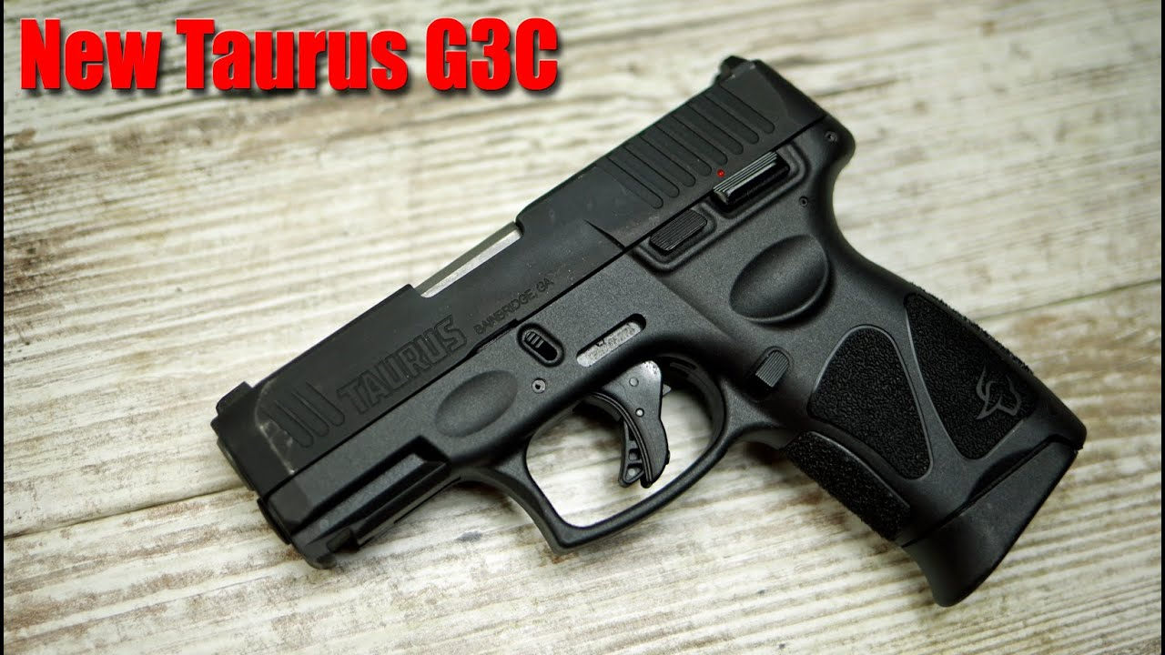 New Taurus G3C 9mm First Shots: $275 Pistol & G2C Comparison