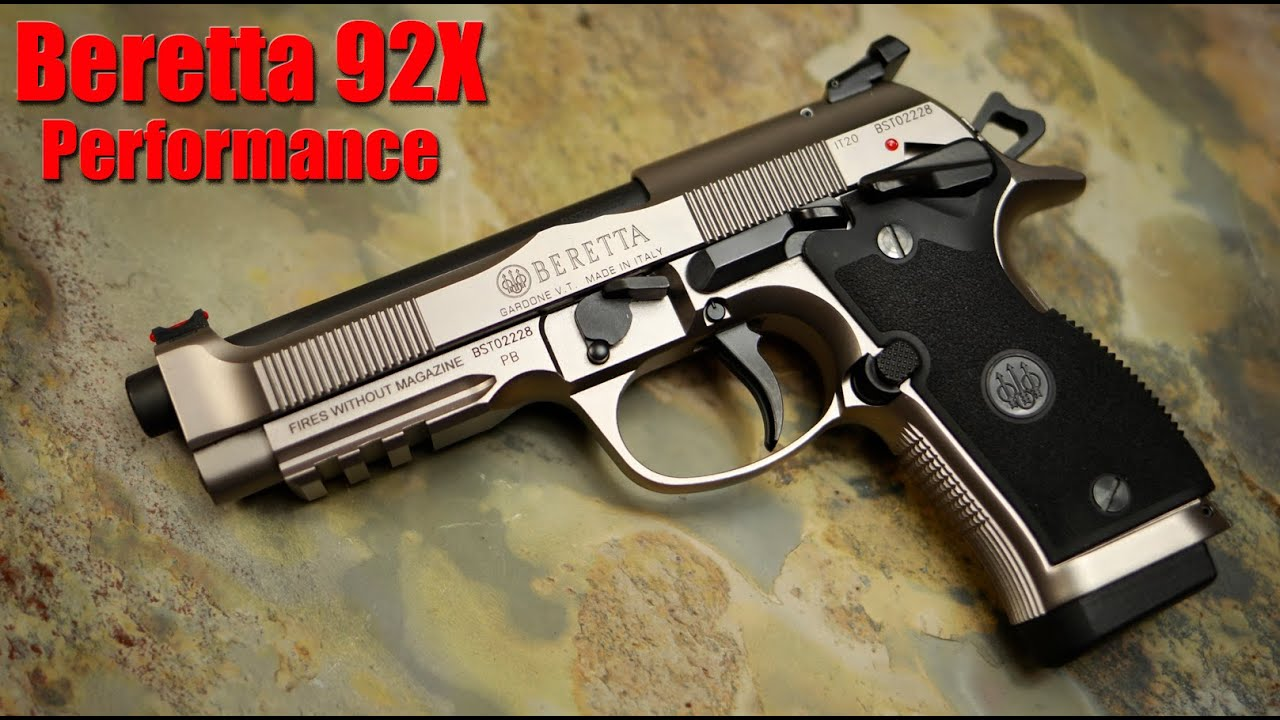 Beretta 92X Performance: 1000 Round Review