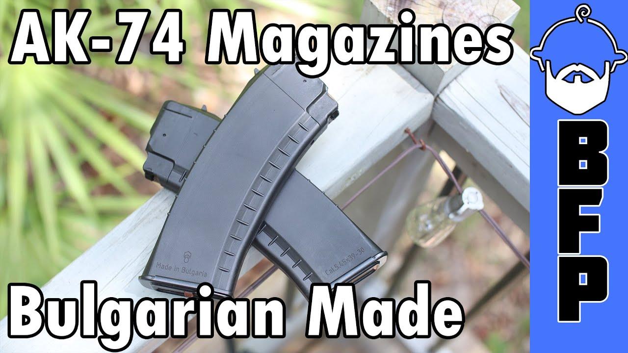 Bulgarian 74 Commercial Gen 2 Magazines