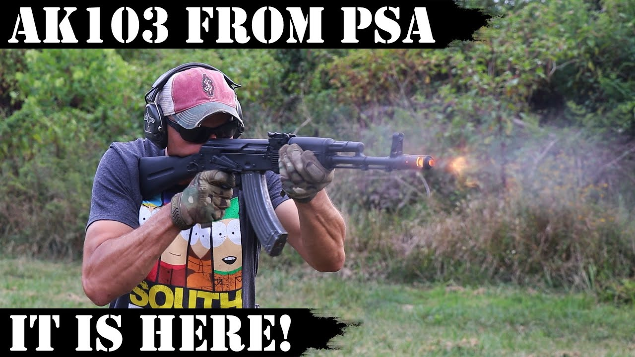 AK 103 from PSA - It's here!