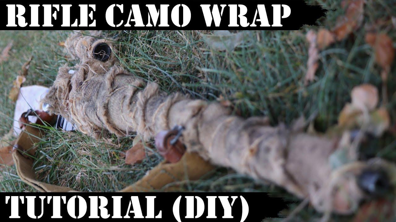 Rifle Camo Wrap Tutorial! DIY section too!