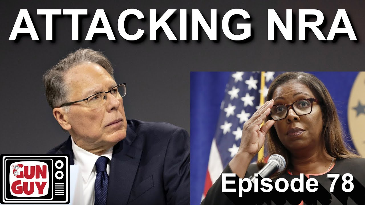 Why are leftists attacking NRA now?  Because we're winning!    Episode 78
