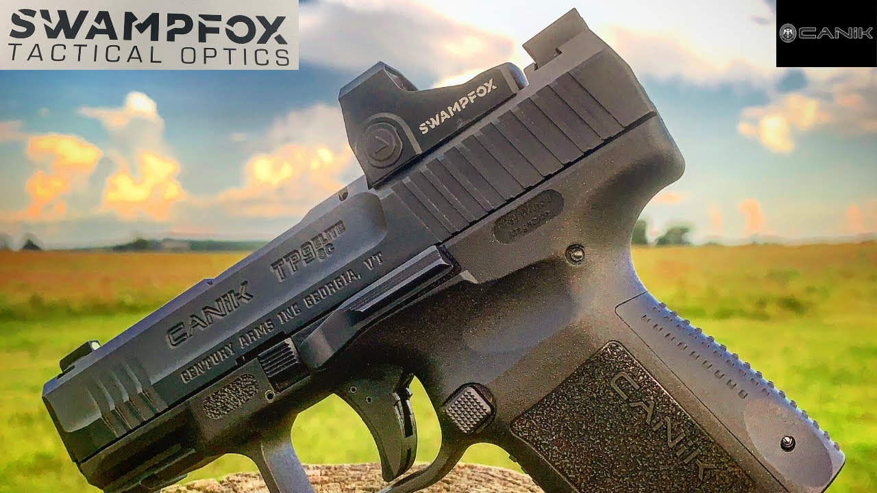 Swampfox Optics Sentinel | Canik TP9 Elite SC Blackout Edition