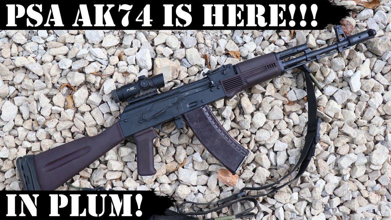 PSA AK74 it is HERE!!!!  Boom Shakalaka!!!