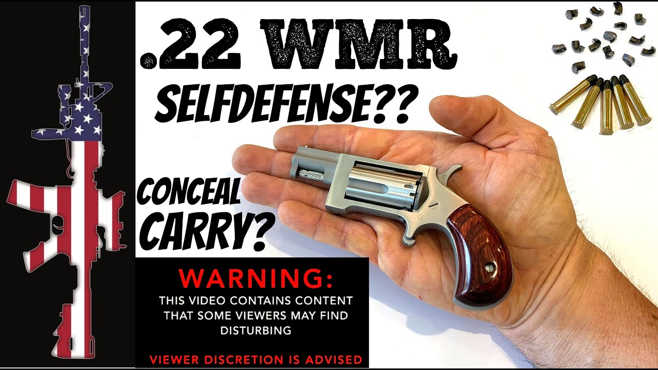 .22 WMR FOR SELF DEFENSE?? - MUST WATCH...(you will be shocked)