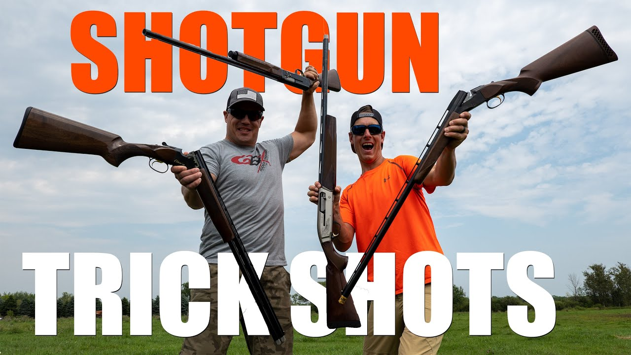 Ultimate Trap & Upland Shotgun Trick Shots | Gould Brothers
