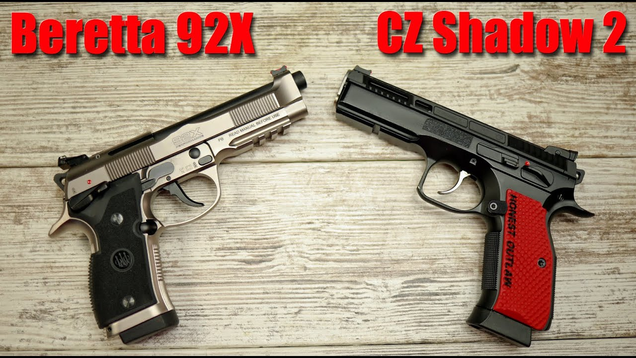 Beretta 92X Performance vs CZ Shadow 2