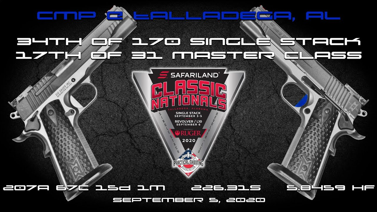 2020 Safariland Single Stack Classic Nationals