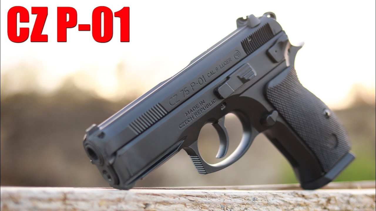 CZ P01 First Shots & Impressions