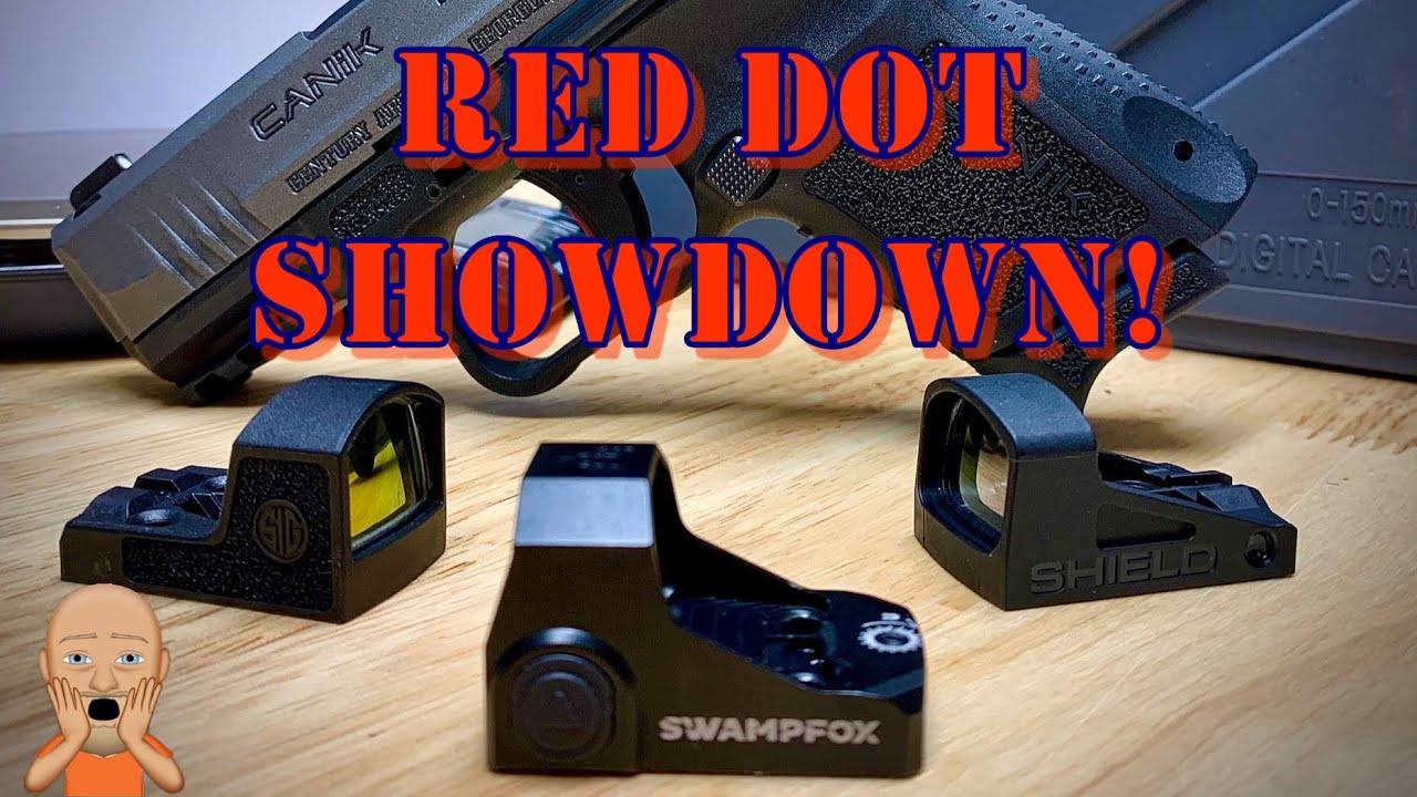 Swampfox Sentinel vs RomeoZero vs Shield SMS2 Red Dot Showdown