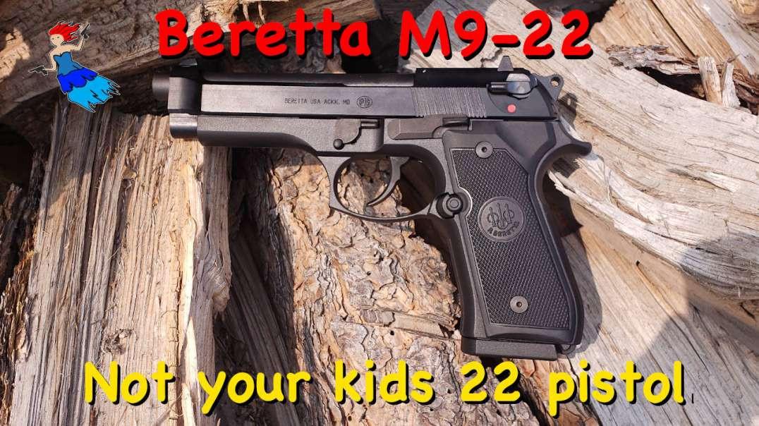 BERETTA M9 22 LR: The Beretta 22LR pistol everyone was wanting
