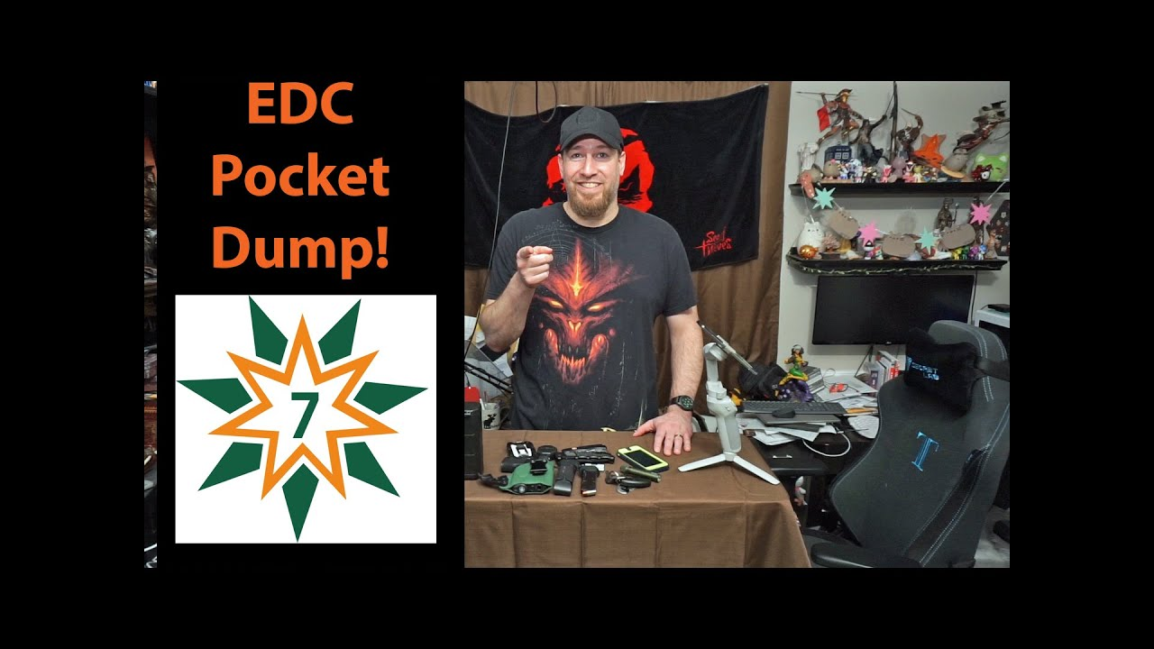 EDC Pocket Dump - August 2020