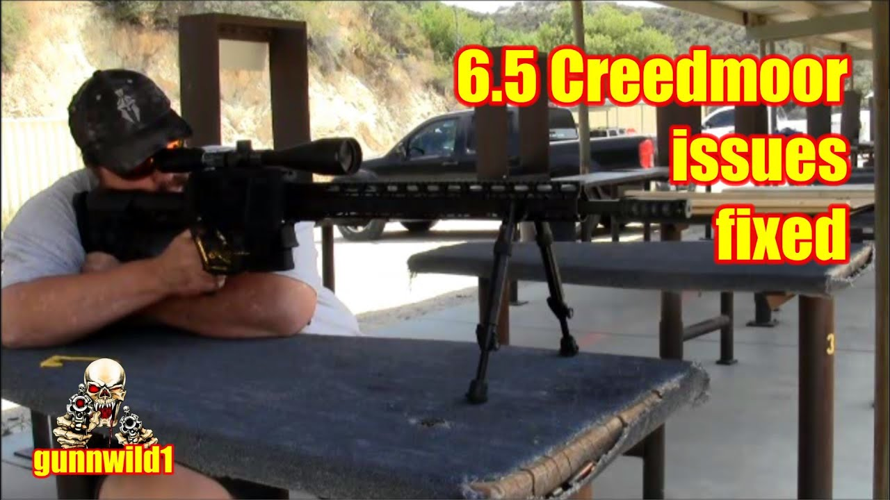 6.5 Creedmoor issues fixed
