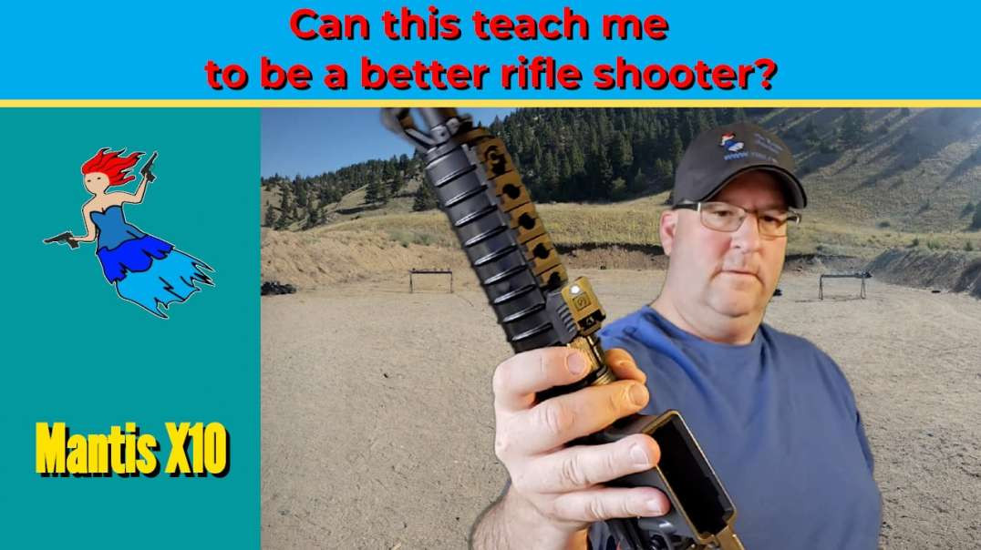 MANTIS X10 ON A RIFLE - How to be a better rifle shooter