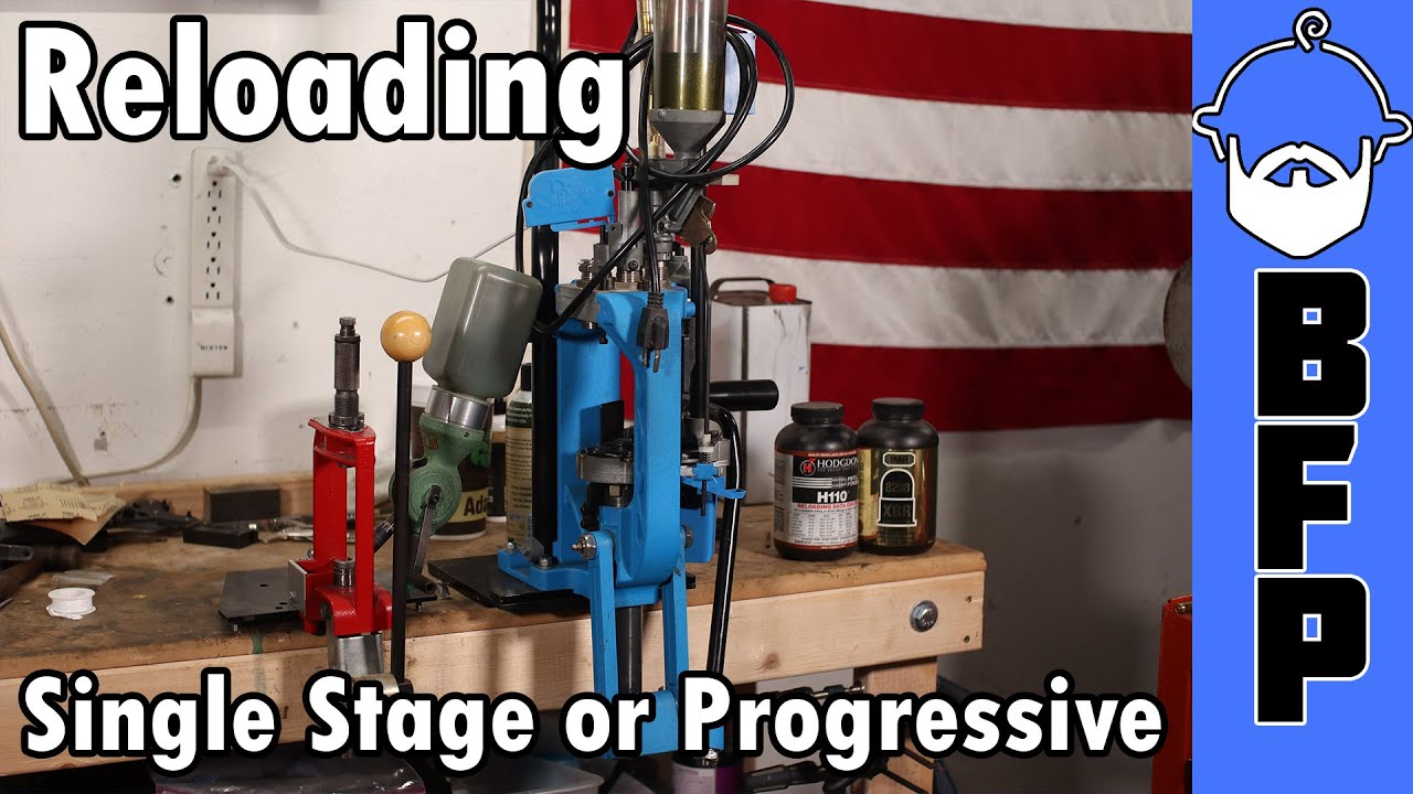 Reloading - Single Stage or Progressive?