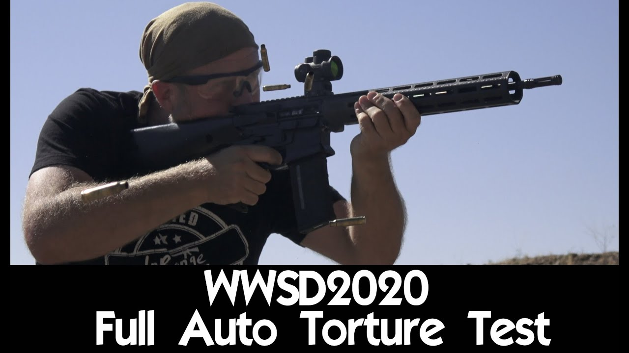 WWSD2020 - Full Auto Torture Test