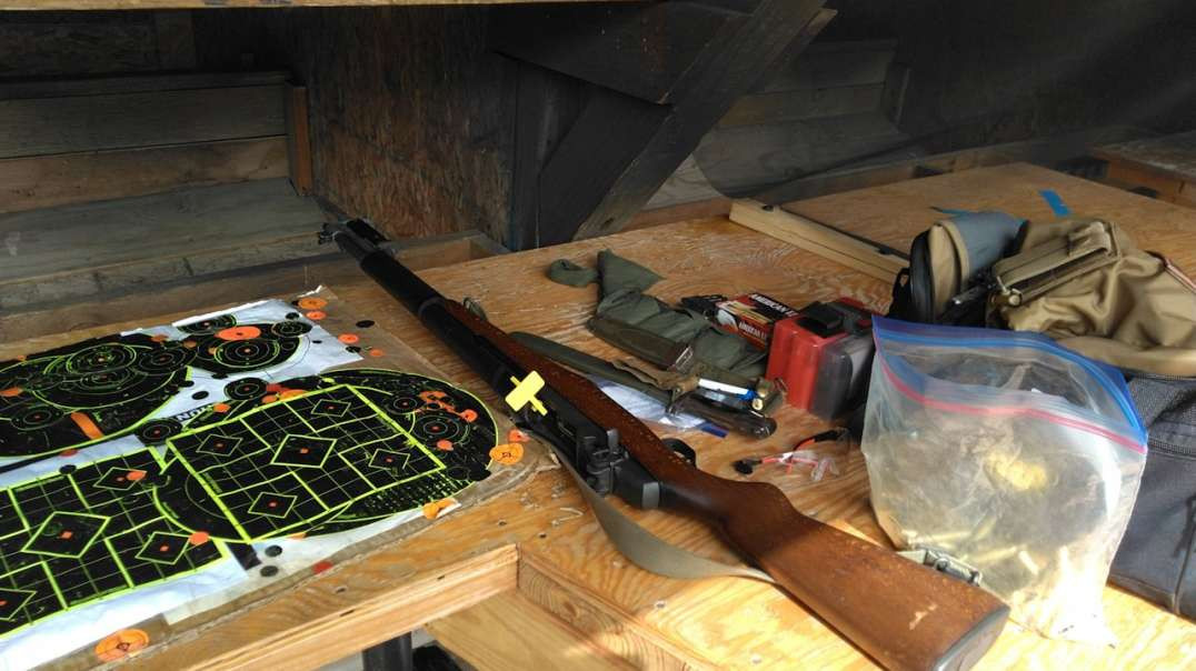 First Time To The Range Since COVID, Reloads, & M1 Garand Action (Gunstreamer Version)
