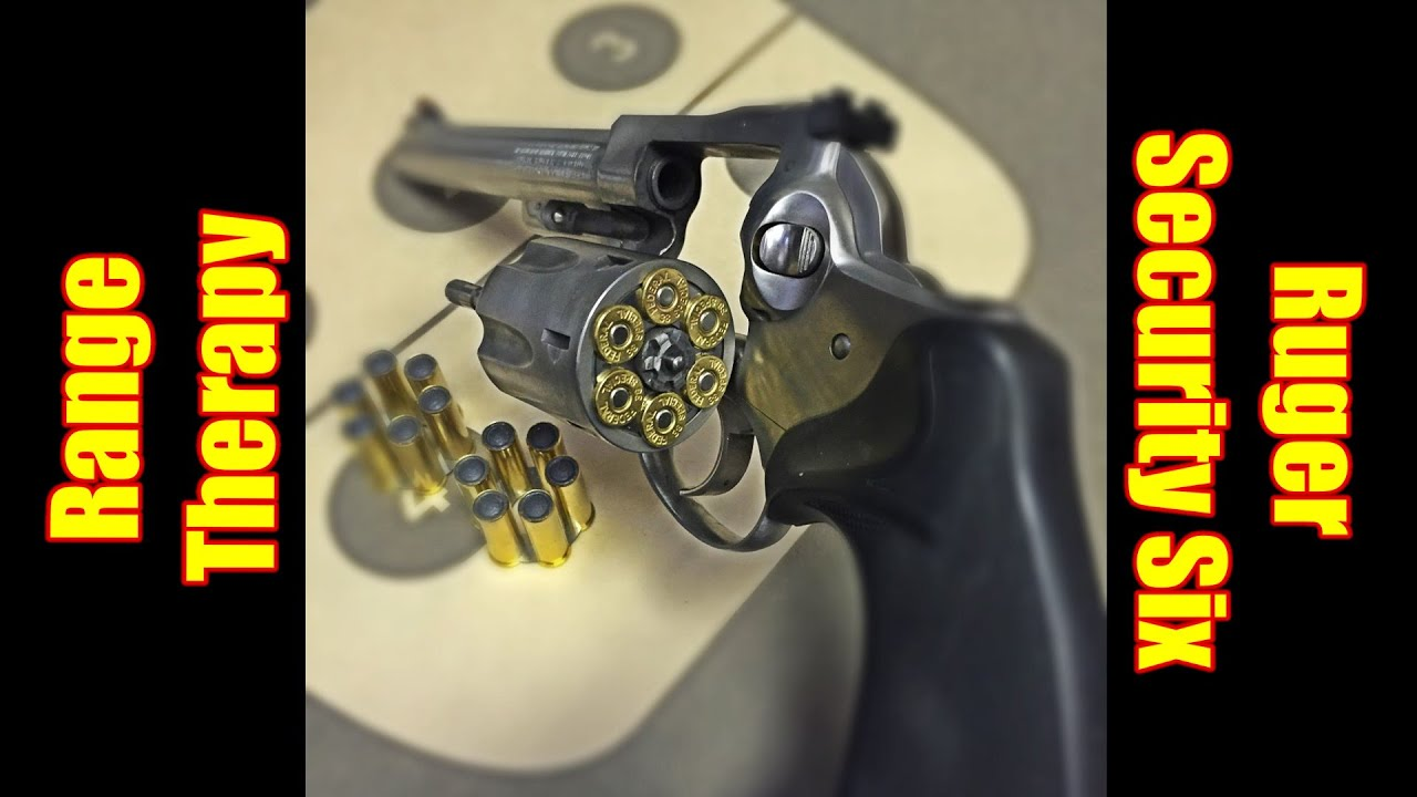Range Therapy Ruger Security Six