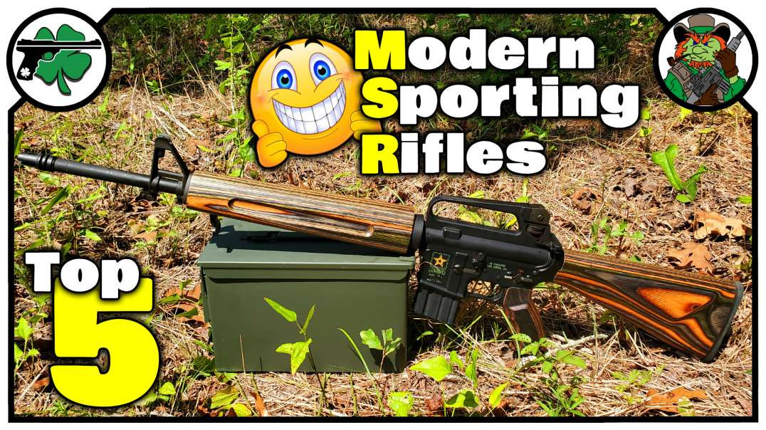 TOP FIVE Modern Sporting Rifles That I Own September 2020