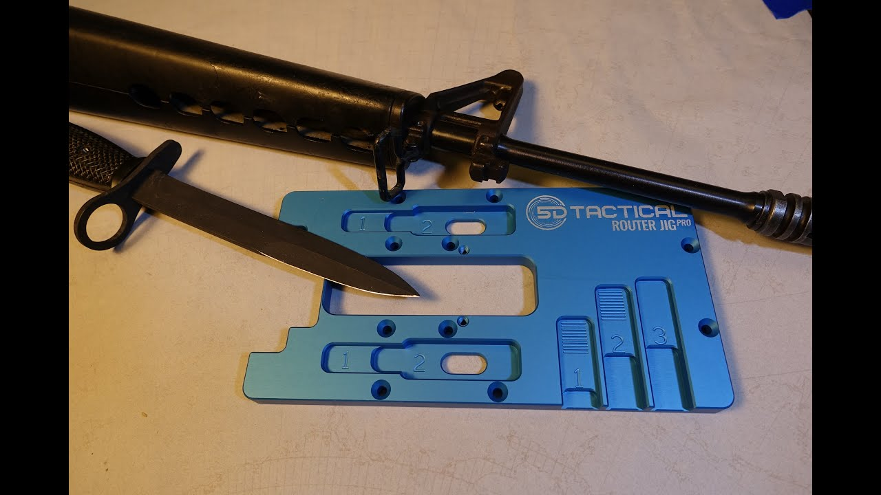 M16A1 Repair Part 3 Unboxing the Bayonet and Router Jig