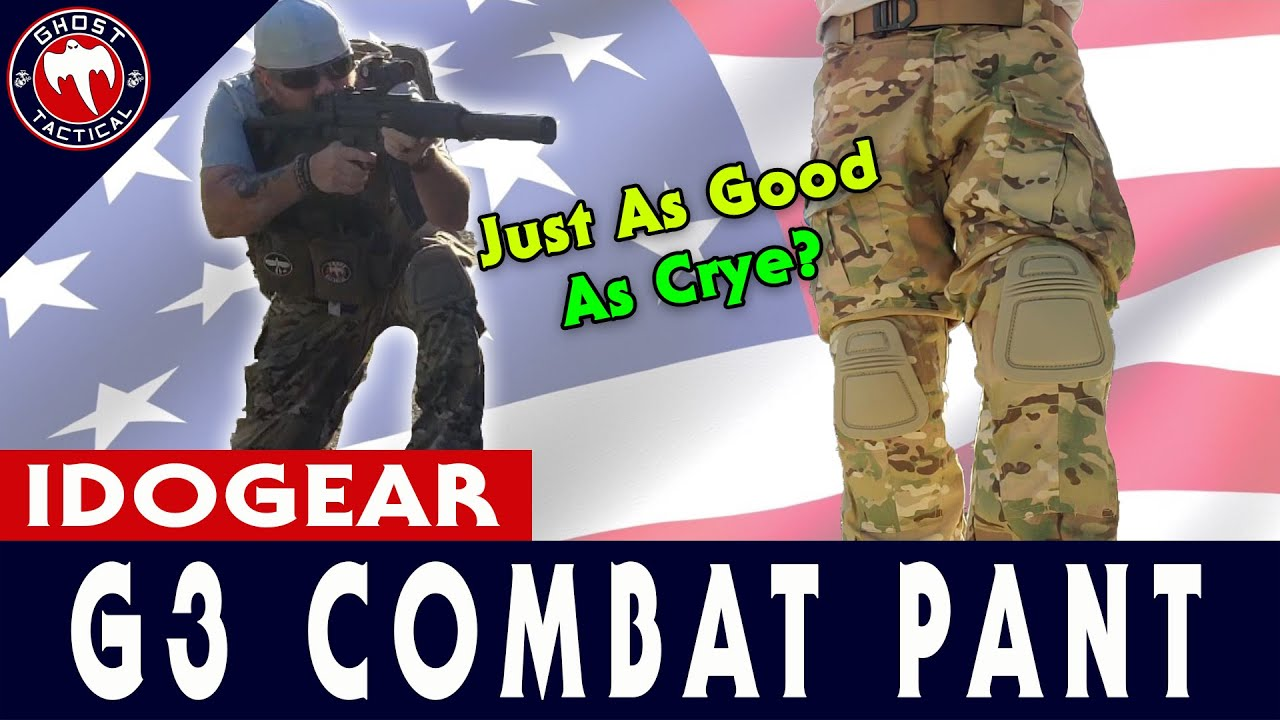 IDOGEAR G3 Combat Pants:  Are They As Good As Crye?