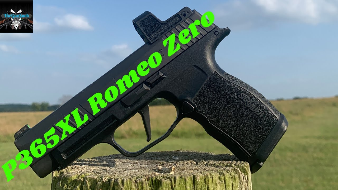 Sig Sauer P365xl Romeo Zero | Romeo 0 problems