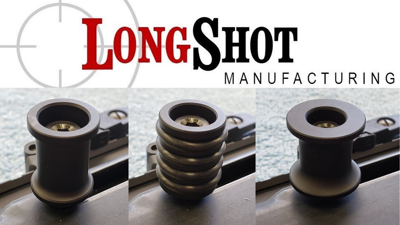LongShot Mfg charging handles for Hi Point carbines
