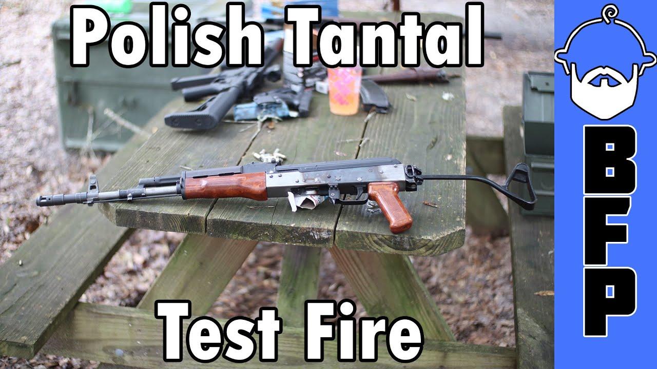 Tantal Test Fire