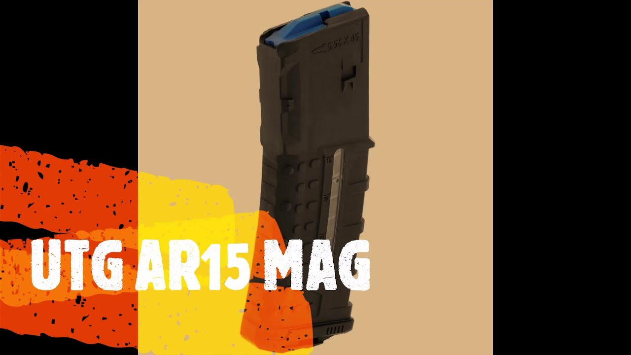 AR-15 magazines made by utg tabletop review