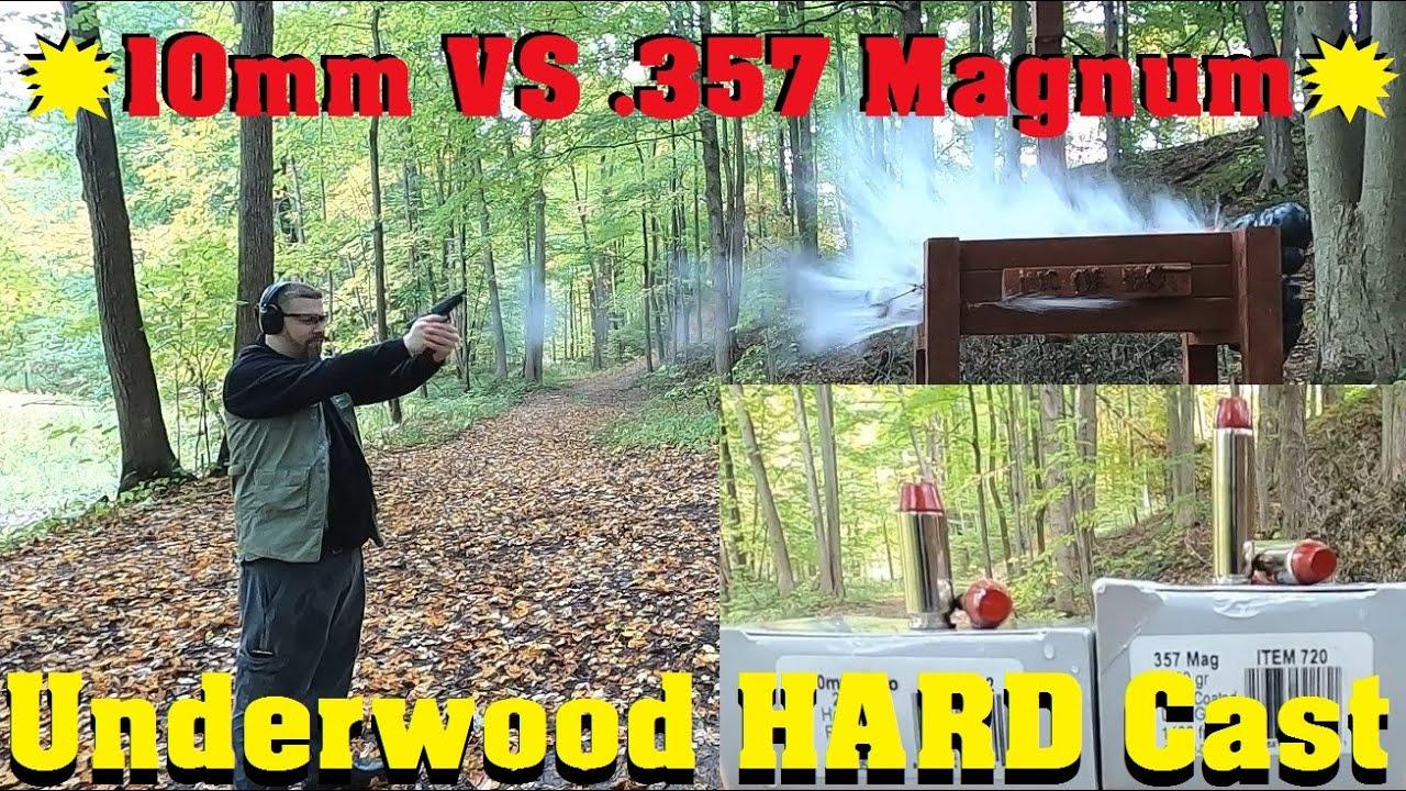 💥10mm VS .357 Magnum💥 Episode 8. Underwood HARD Cast