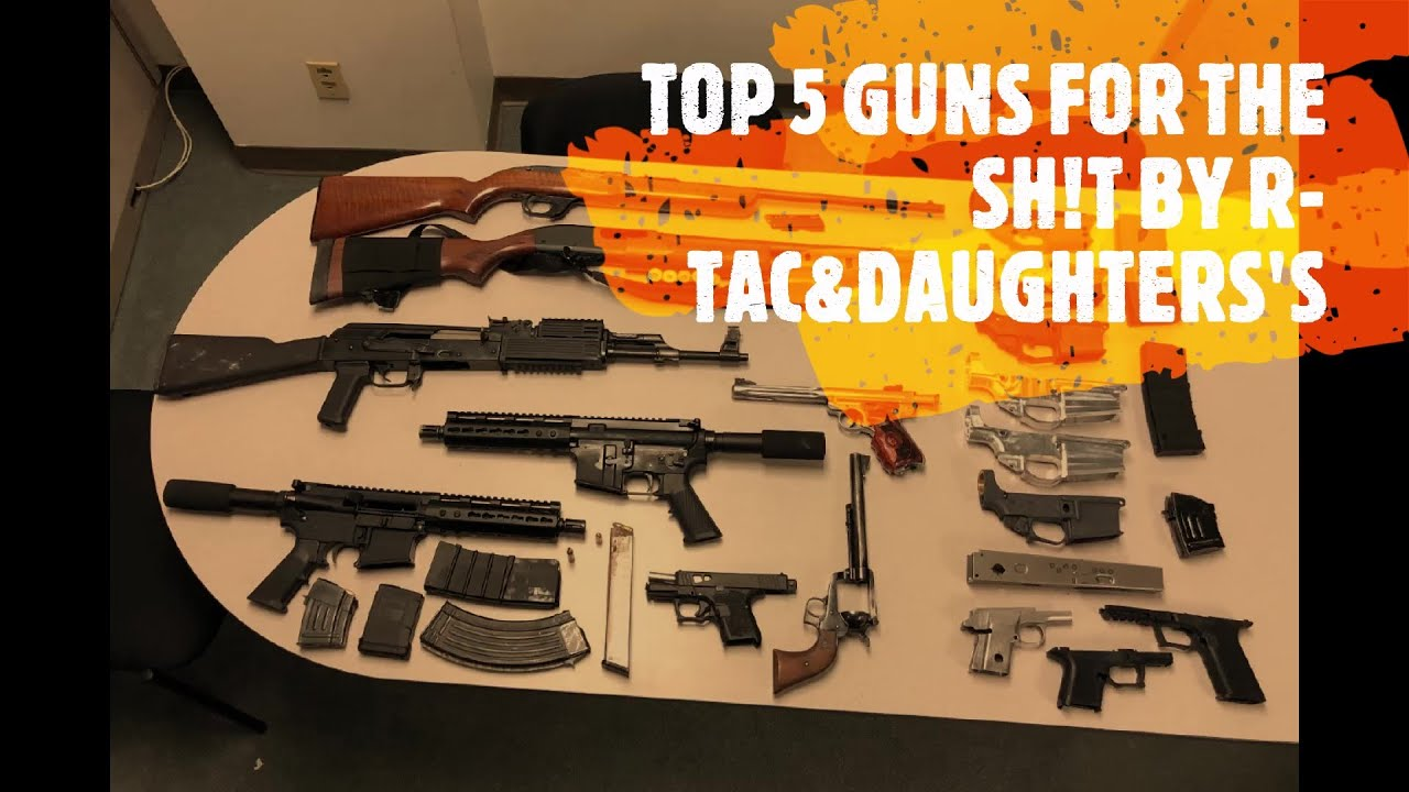 Top Five gun to have during the zombie, pandemic or riot season