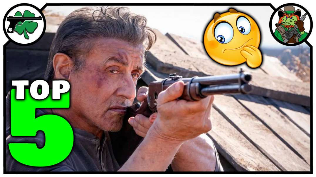 Top Five LEGENDARY Lever Action Rifles From The Movies