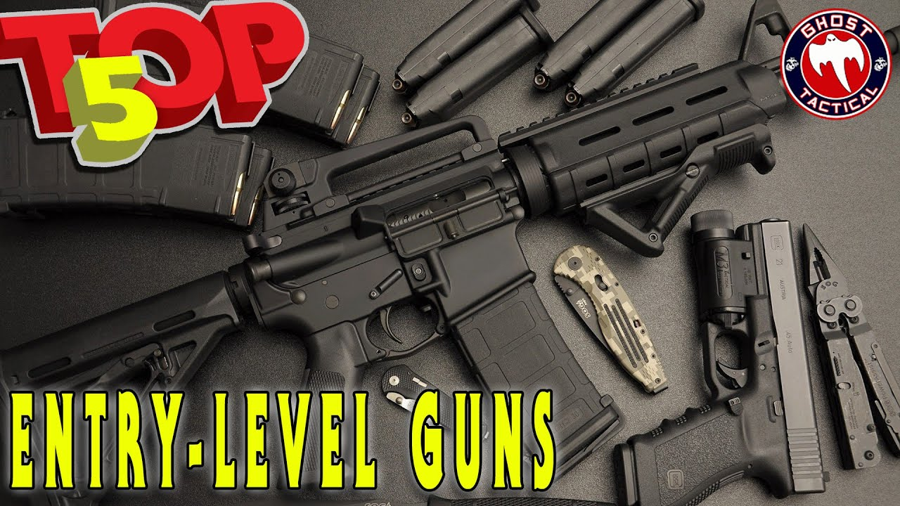 Top 5 Best Entry-Level Guns (Budget Friendly)