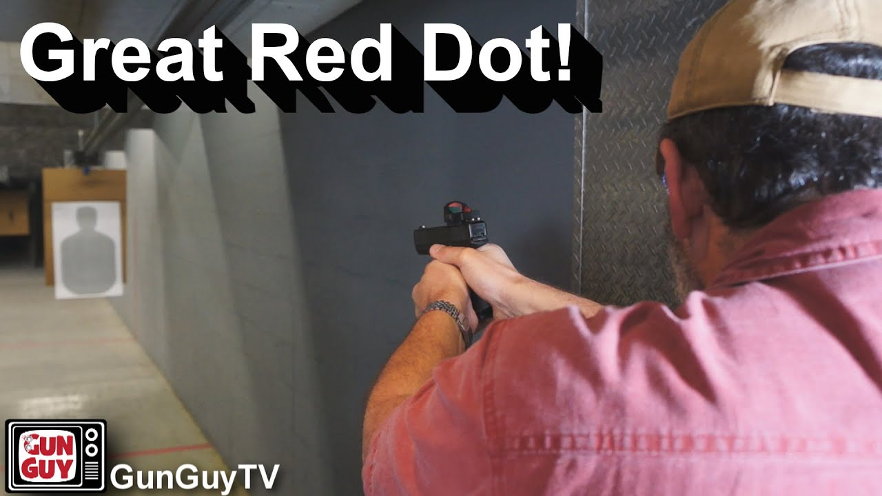 Great Micro Red Dot Sight for Your Pistol
