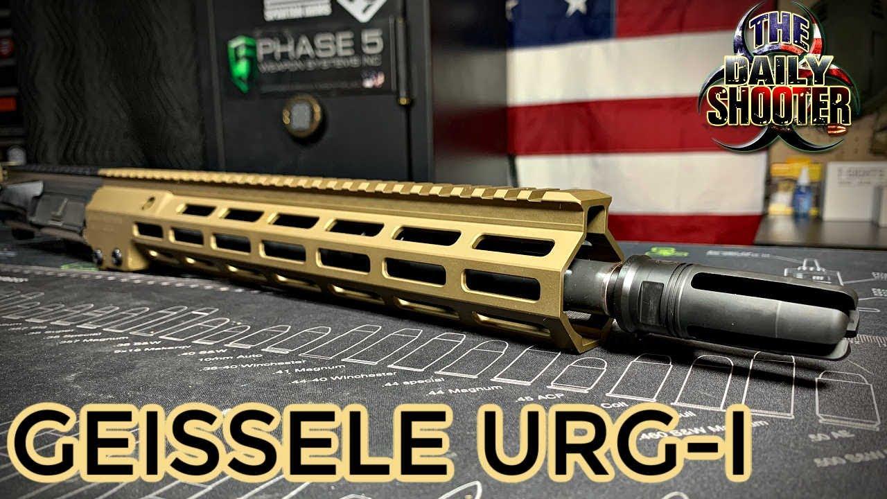 Geissele URG I USASOC Upper Unboxing