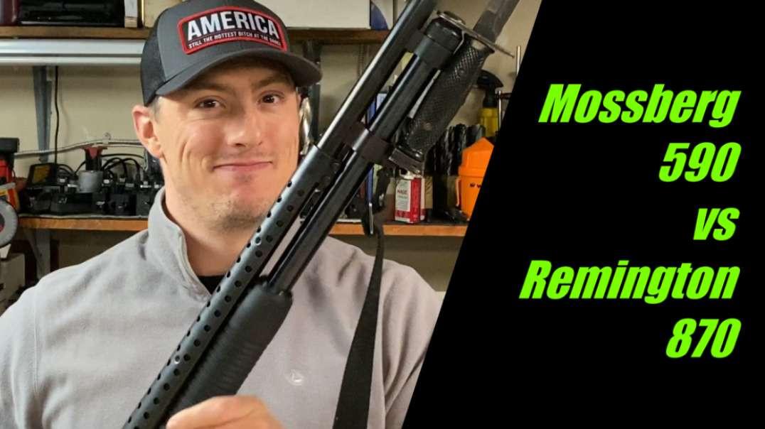 Mossberg 590 Shotgun review and range time.