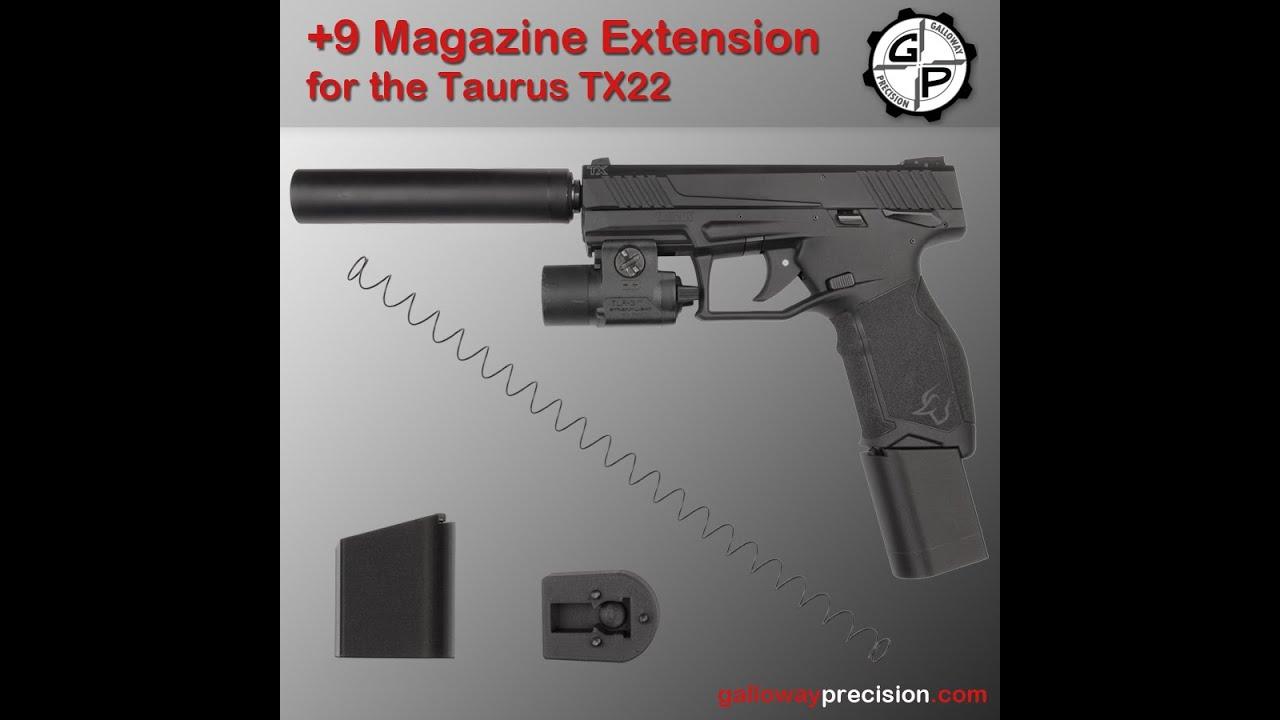 TX22 +9 Magazine Extension