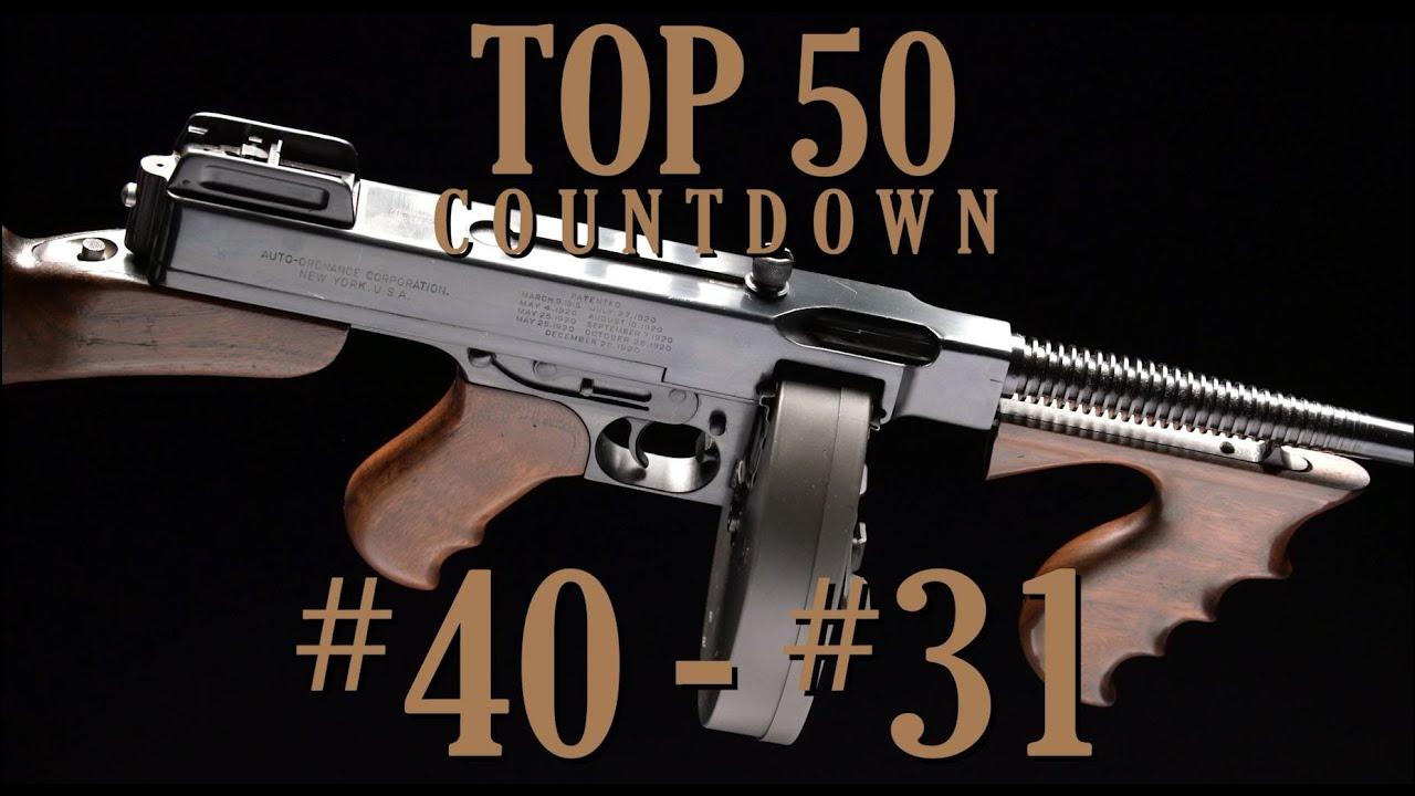 Top 50 Guns of the December Premier: 40-31