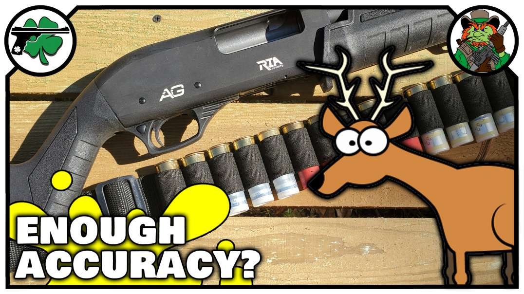 DEER Hunting With SLUGS The RIA All Generations 12 Gauge