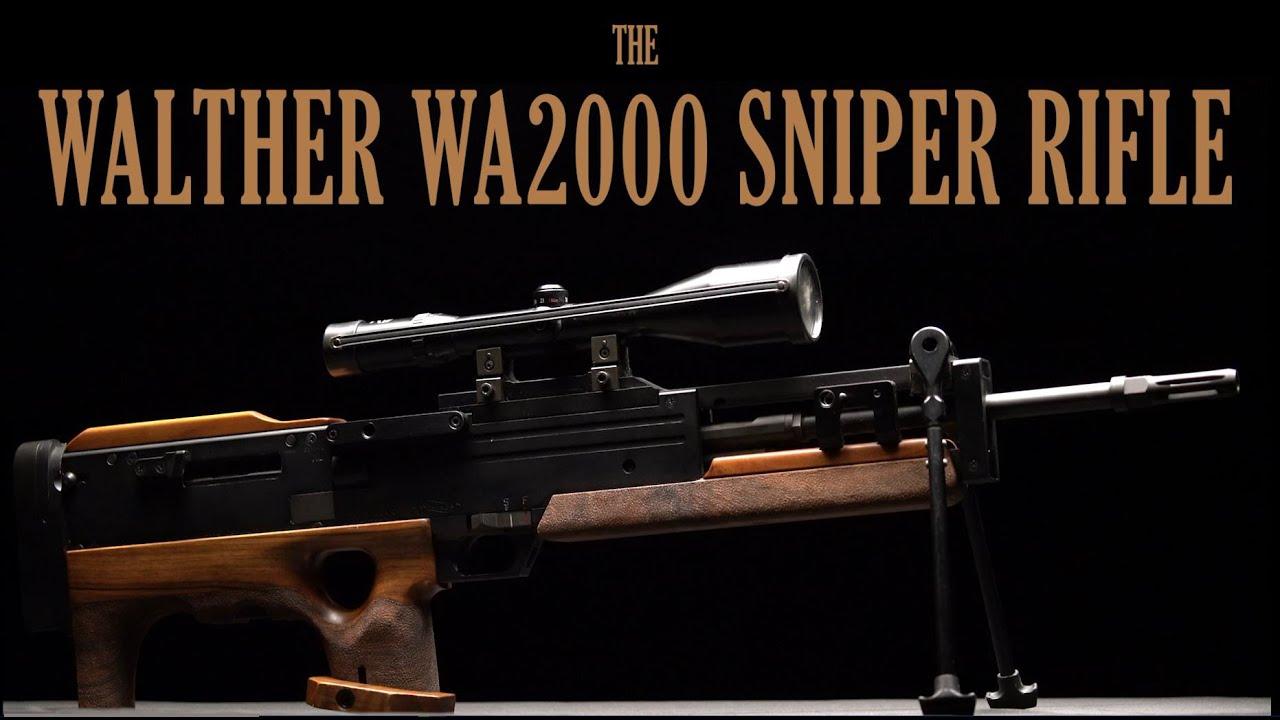 The Walther WA2000 Sniper Rifle