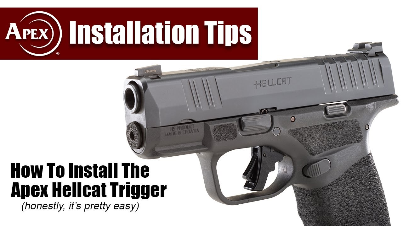 How To Install The Apex Action Trigger For The Springfield Hellcat