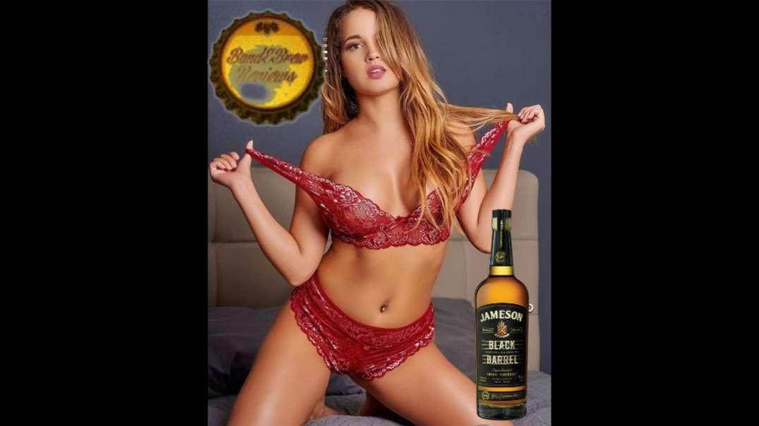 Flask 95 ... Jameson Black Barrel